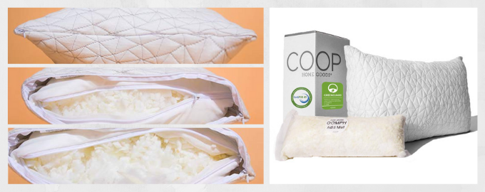 Adjustable Hypoallergenic memory foam pillow