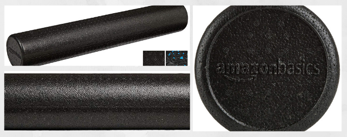 Amazon Basics High-Density Round Foam Roller