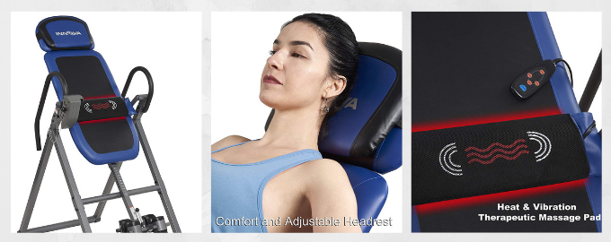 Innova Advanced Heat and Massage Therapeutic Inversion Table