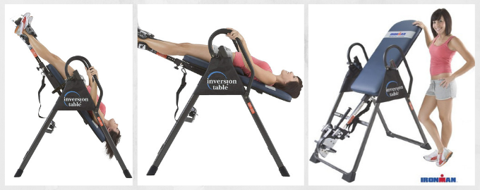 Ironman Gravity 4000 Highest Weight Capacity Inversion Table (Ironman)