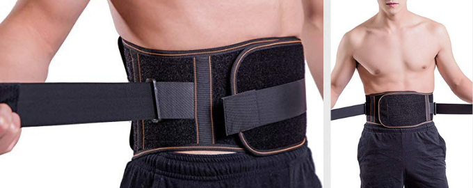 Lumbar Back Support Belt For Men and Women Koksport