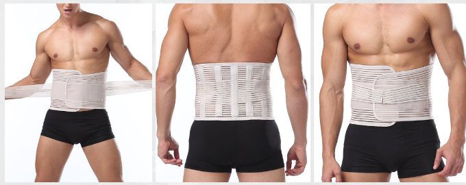 Stabilising Lower Lumbar Belt Back Brace for Women and Men Hurmes