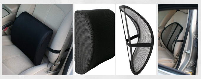 SSweet Relief 100% Pure Memory Foam Back Cushion