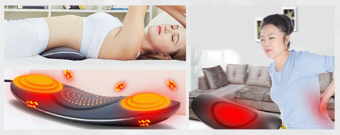 GPFDM Lower Back Massager with Heated Therapy